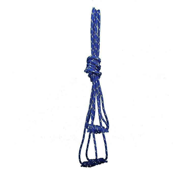 Yoga, Juego de Cuerdas en la Pared – Dos más (Superior) y Dos más Cortas (Inferior) Cuerdas – 115/95x1,2 – Original Iyengar Yoga Medidas – Yoga Props