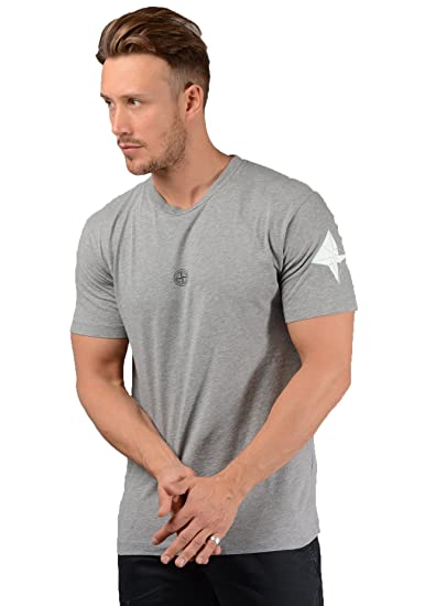 5bff50b19 Stone Island Mens 2NS90 Graphic Eleven Tee in Grey: Amazon.co.uk: Clothing
