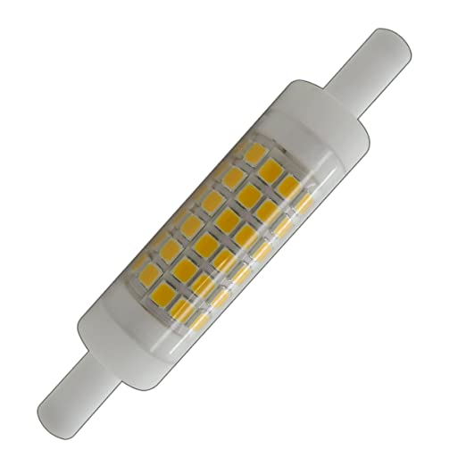 R7S LED 5 W blanco cálido 78 mm x 15 mm (Diámetro) muy pequeño