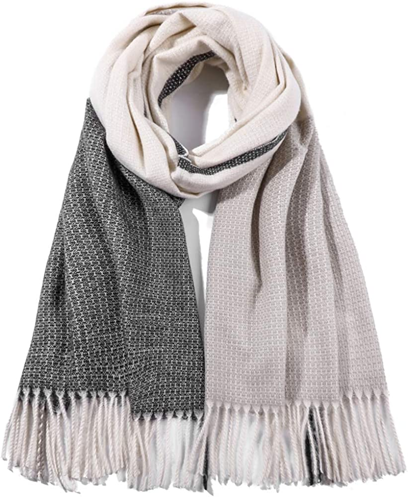 70cm EASE LEAP Elegante Sciarpa da Donna Morbida Pashmina Calda Grande Stole Foulard Invernale 200