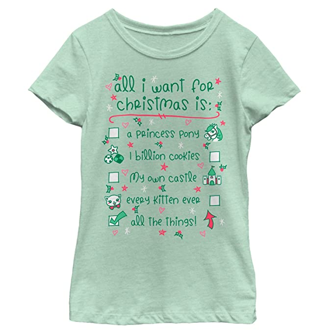 lost gods girls want for christmas all the things mint t shirt