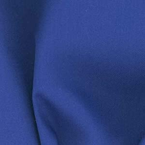 Richland Textiles Poly/Cotton Twill Blue Fabric, Royal, Fabric by the yard