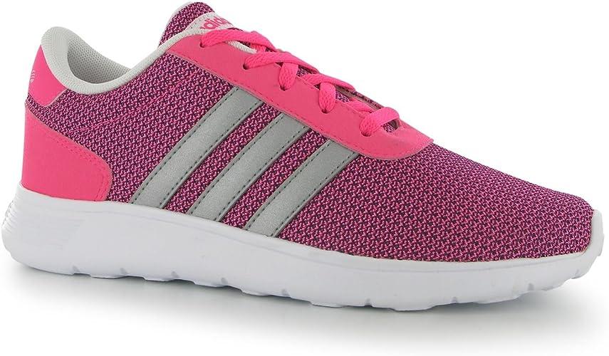 adidas - Zapatillas de Running para niña Pink/Silver/Wht: Amazon ...