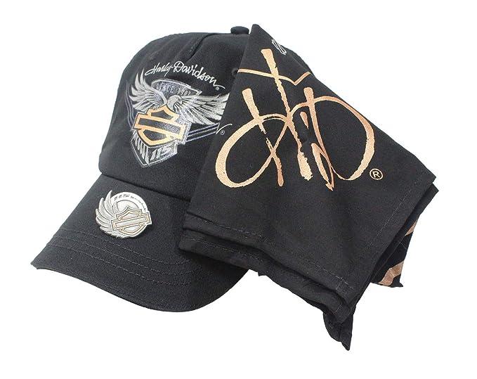 dfa367b27689b Amazon.com  Harley-Davidson Womens 115th Anniversary 3-Piece Ride ...