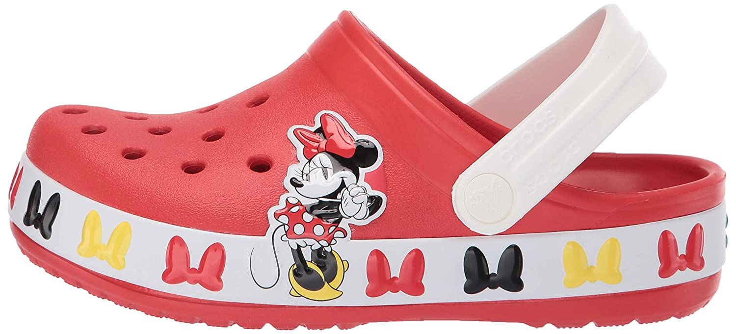 Girls Boys Crocs Kids Disney Minnie Mouse Clog|Water Shoe for Toddlers