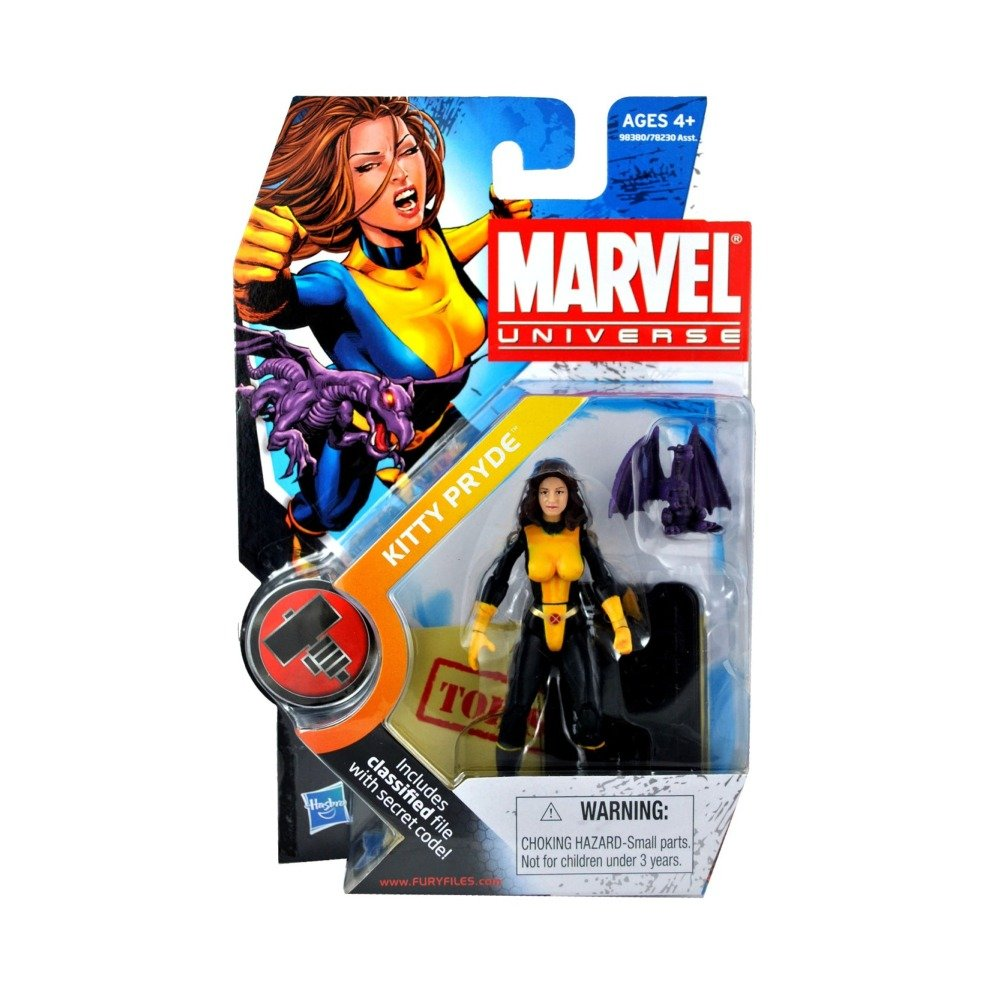 Marvel Universe 3 3//4 Inch Series 2 Action Figure #17 Kitty Pryde Lockheed