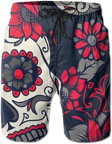 BANGBIG Mens Texas State Flag Thin Blue Line Summer Breathable Quick-drying Swim Trunks Beach Shorts Board Shorts