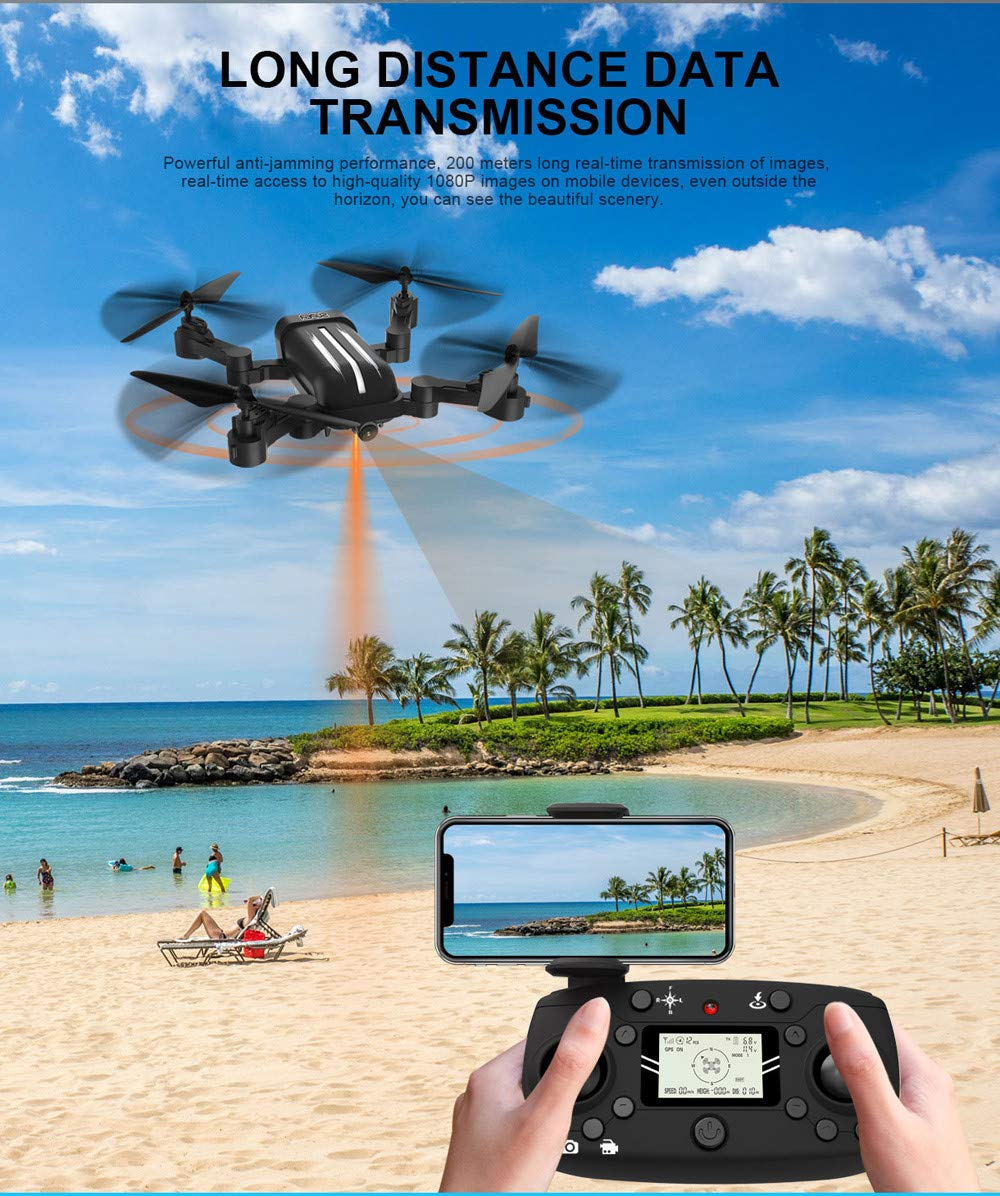 Jamicy RC RC RC Quadcopter, Quadrocopter, 5G 1080P HD Weitwinkel Kamera WiFi FPV Dual GPS / Brushless Faltbare Quadcopter RC Drone (X28) c79c5b
