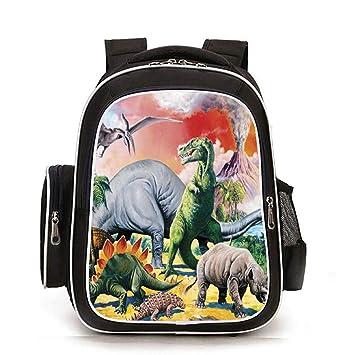 topsone Mochila Escolar para niños fortnite 3d dinosaurios ...