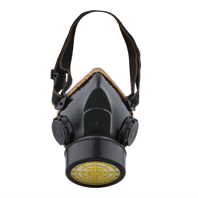 Ewolee Máscara de Gas, Mascarillas y respiradores Para Filtrar Polvos, Nieblas, Humos Metálicos