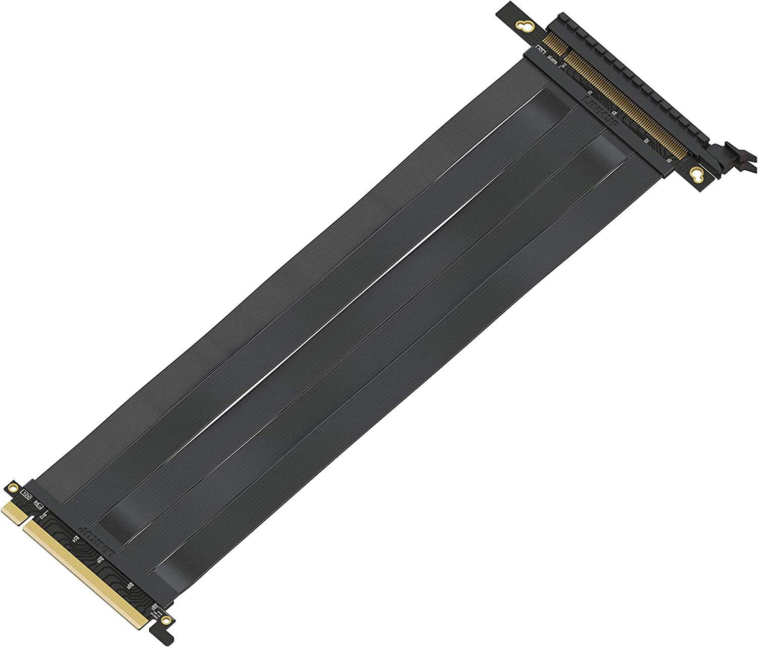 Cable Length: 30cm, Color: Down Angled Occus PCI-E Gen3.0 16x to 16x Riser Cable 10cm 20cm 30cm 40cm 50cm PCI-Express PCI-E X16 Extender Down Right Angled Elbow Design