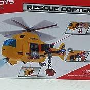 Bump /& Go a batteria elicottero Lampeggiante luci e suoni giocattolo per bambini 3+