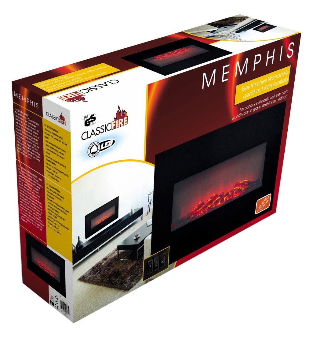 Edco Classic Fire 8711252536804 Wall Heater Memphis 80 cm: Amazon.es: Hogar