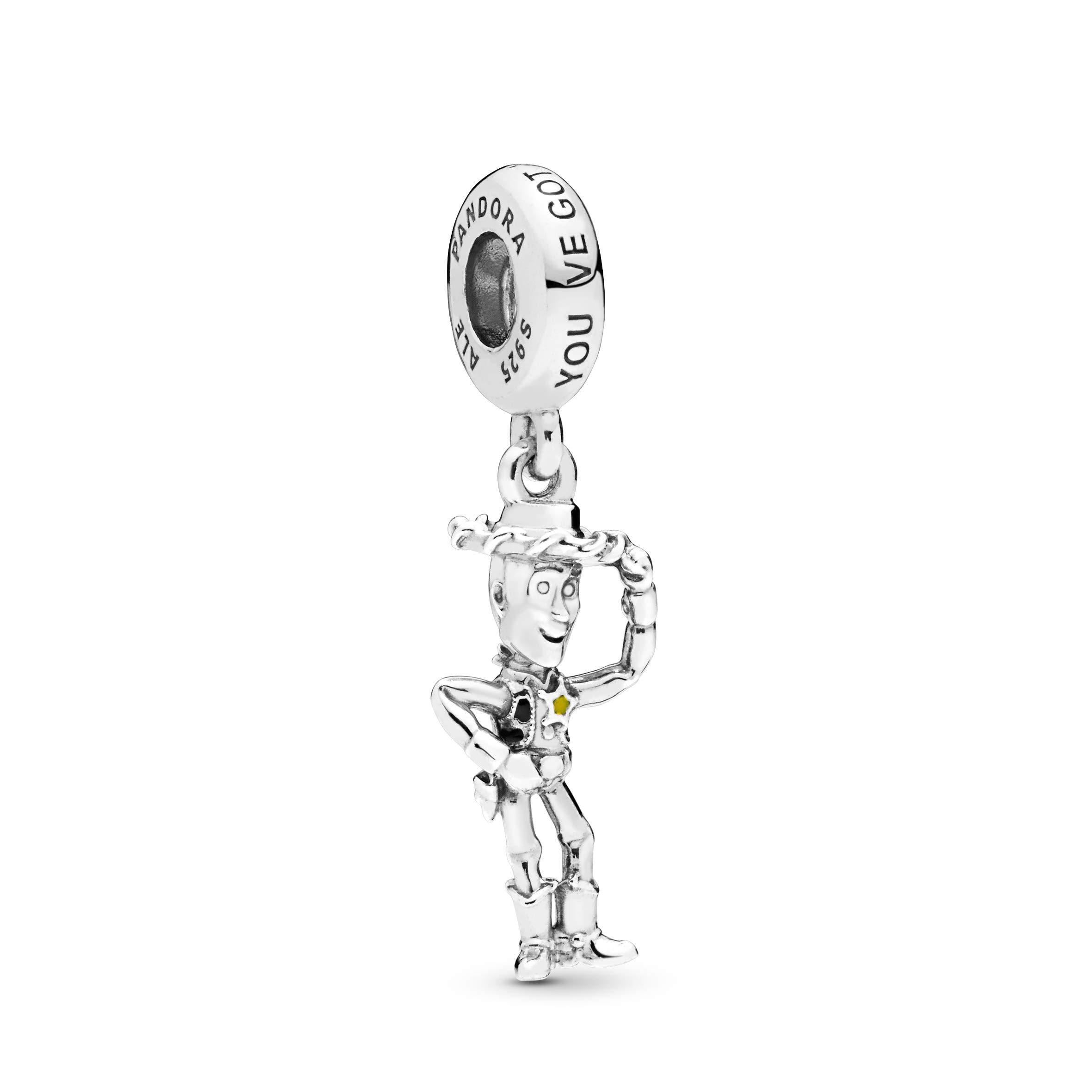 PANDORA Disney Pixar, Toy Story, Woody 925 Sterling Silver Charm - 798041ENMX by PANDORA