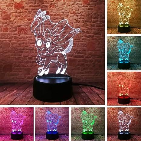 Juego Sylveon 3D Pretty Fairy Bay Rol 7 color Gradiente ...
