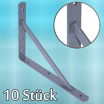 Priostahl Regalträger Metall 10 X Schwerlastträger Regalhalter