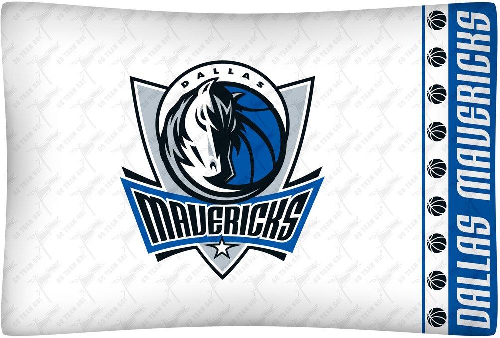 NBA Dallas Mavericks Micro Fiber Pillow Case Logo by Sports Coverage