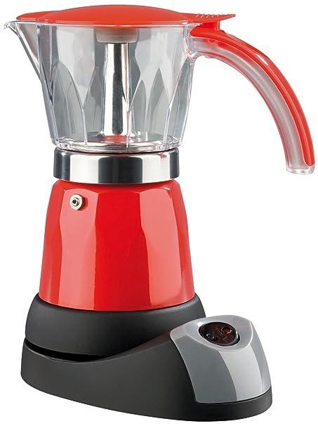TV Unser Original 01896 coffeemaxx Espressokocher, elektrisch 480 W, rot
