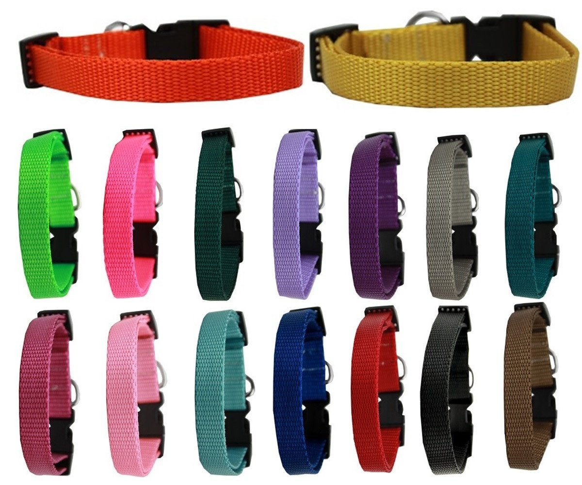 Mirage Pet Products Basic Nylon Collars Groomer & Breeder Bulk Packs (100 Pack Small) by Mirage Pet Products (Image #1)