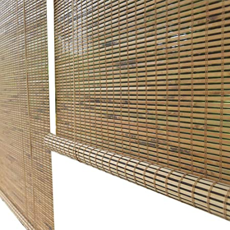 Persiana de bambú Persianas Enrollables Exteriores, Cortina ...