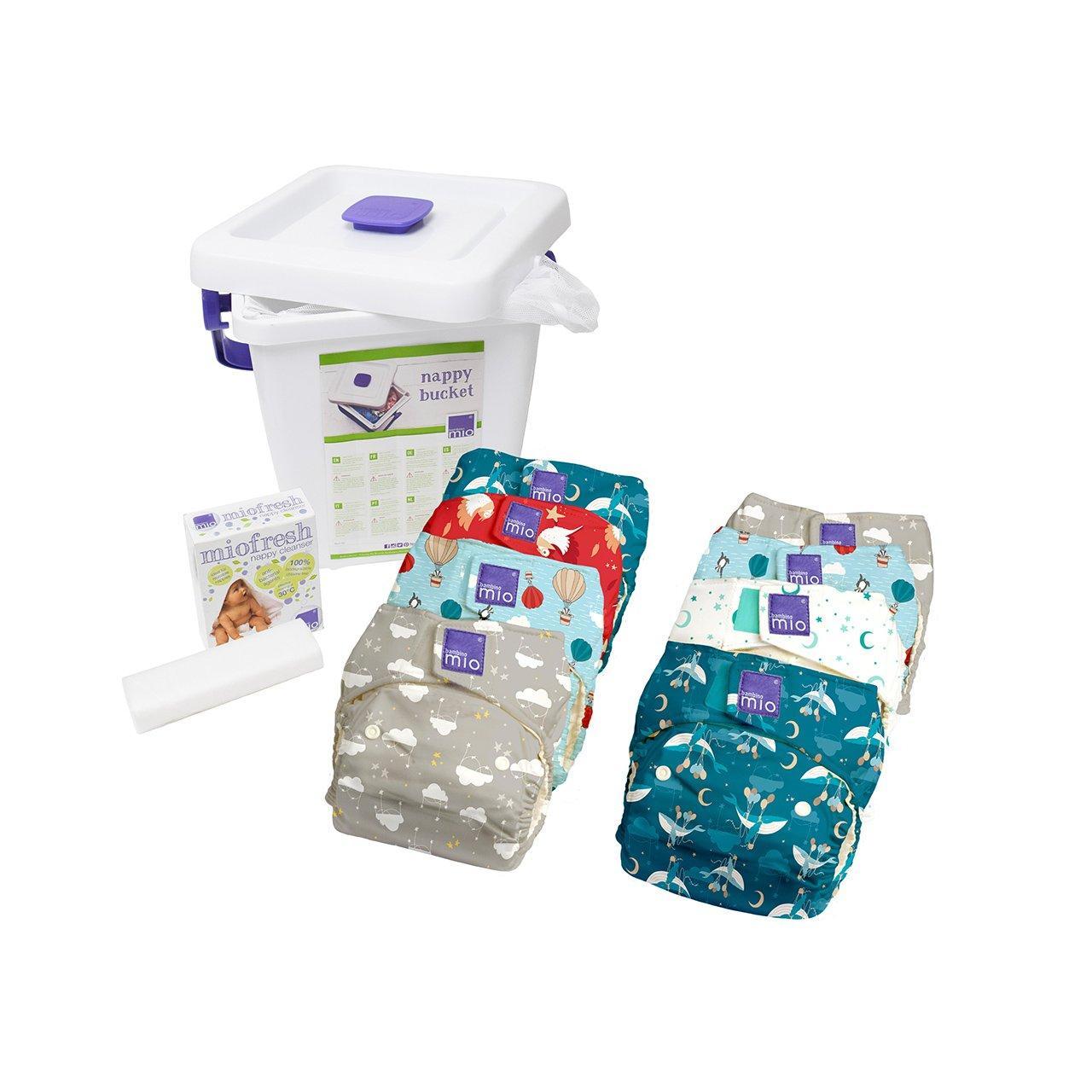 Bambino Mio, miosolo reusable nappy bundle, mix (may vary) Bambino Mio UK NKSOB MIX