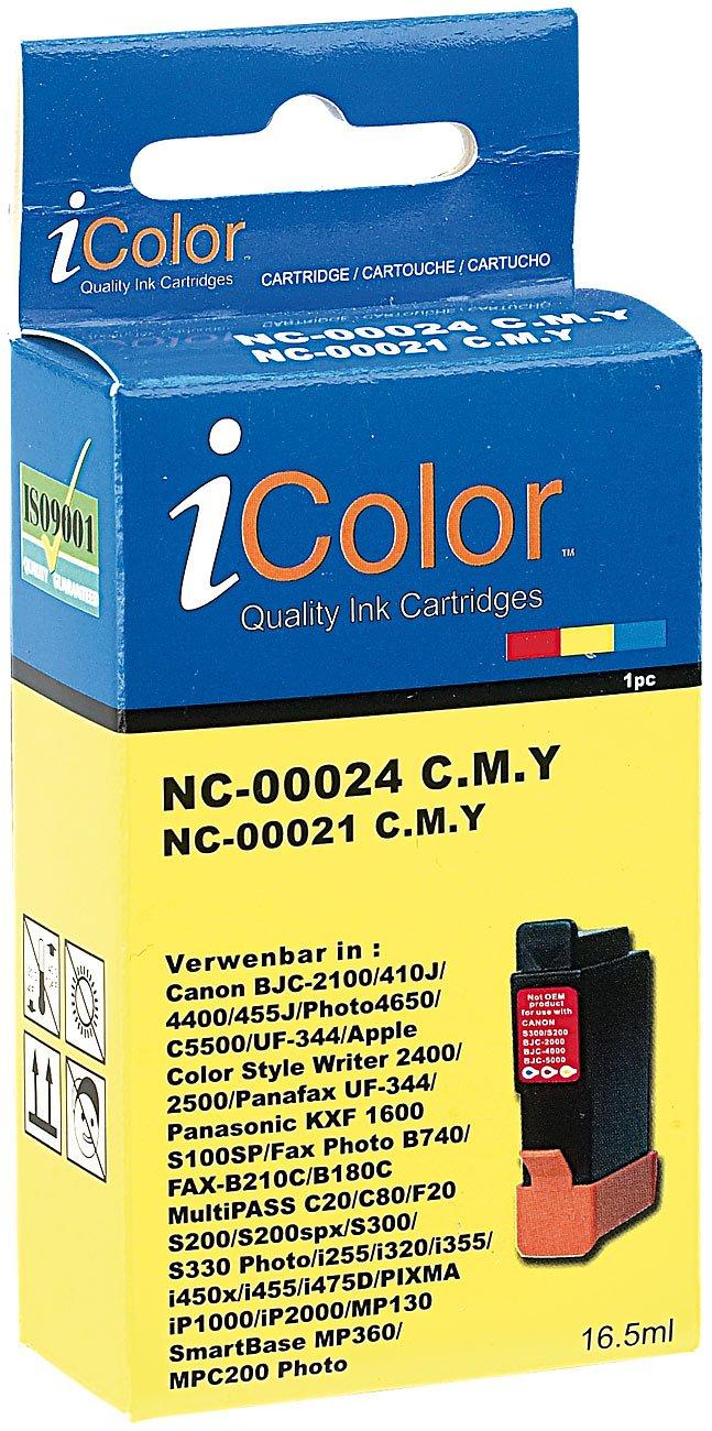 color Infotec 3525: Patrone für CANON ersetzt BCI-24C//21C