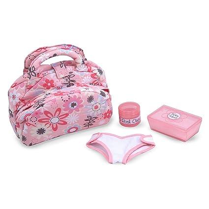 Resultado de imagen de doll nappy bag MELISSA AND DOUG
