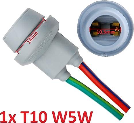 T10 Lampe Version réparation connecteur pour voiture lampes version Lampes Connecteur