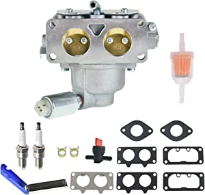 ALL-CARB 791230 Carburetor Replacement for 791230 799230 699709 499804 499809 V-Twin 20hp 21hp 23hp 24hp 25hp Carb Manual Choke with Gaskets