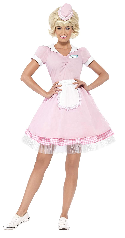 Smiffys Women's 50's Diner Girl Costume RH Smith & Sons LTD