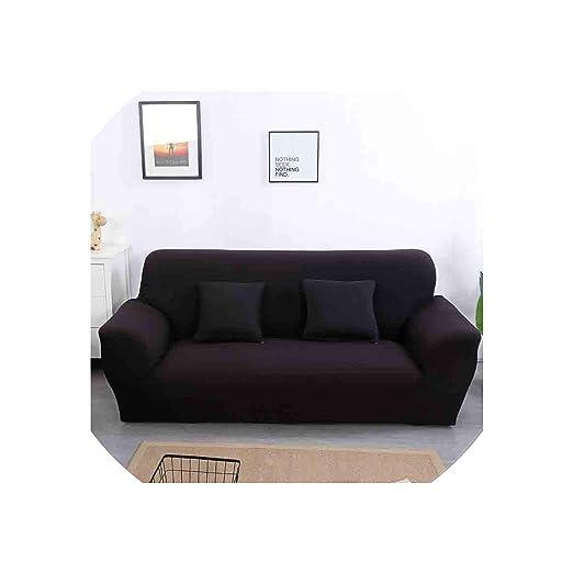 Fundas Sofá Sofá elástico Fundas Algodón para Sala Funda de sofá sofá Cubierta, 02, de Dos Personas: Amazon.es: Hogar
