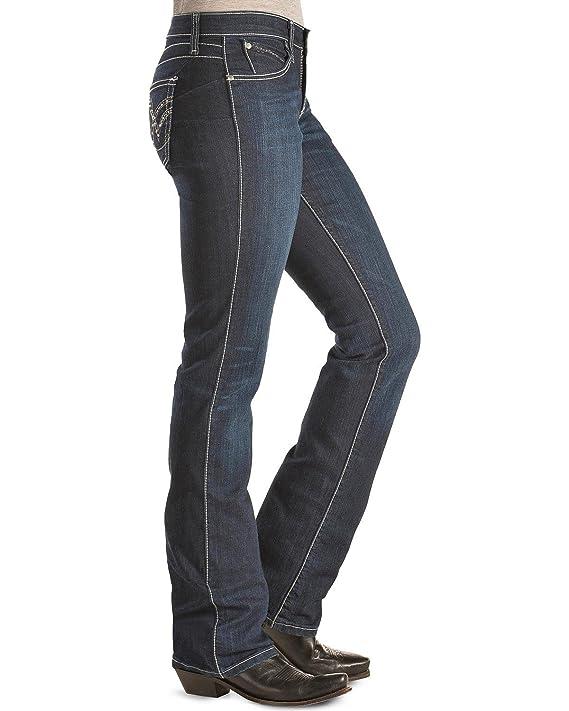 Amazon.com: Wrangler Mujer Vaquera corte Ultimate Jean, q ...
