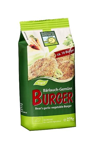 Bohlsener Mühle Mezcla para Hamburguesas Vegetales - 6 Paquetes de 275 gr - Total: 1650