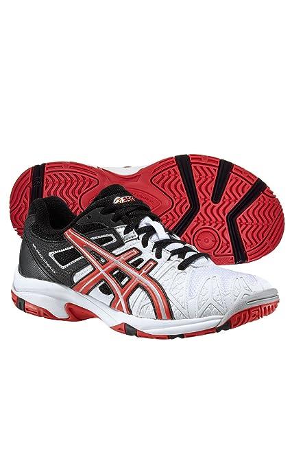 ASICS Gel Resolution 5 GS Junior Tennis Shoes (WhiteBlack