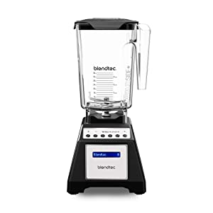 Blendtec Total Classic Original Blender - WildSide+ Jar (90 oz) - Professional-Grade Power - 6 Pre-programmed Cycles - 10-speeds - Black