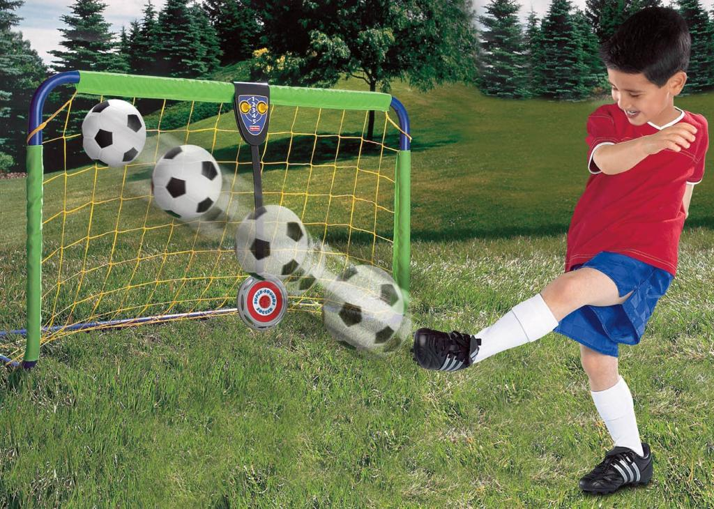 Biggest Backyard Football Hits :  Kids Soccer Goal Ball Net Adjustable Target Play Activity Set Backyard