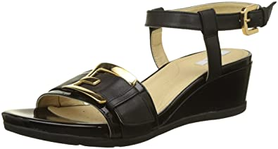 37364e2e037f Geox Women s D Marykarmen D Ankle Strap Sandals  Amazon.co.uk  Shoes ...