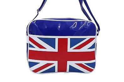 af4af15cdd78 Great Britain Flag Union Jack Blue Postman Bag (PB55): Amazon.co.uk ...