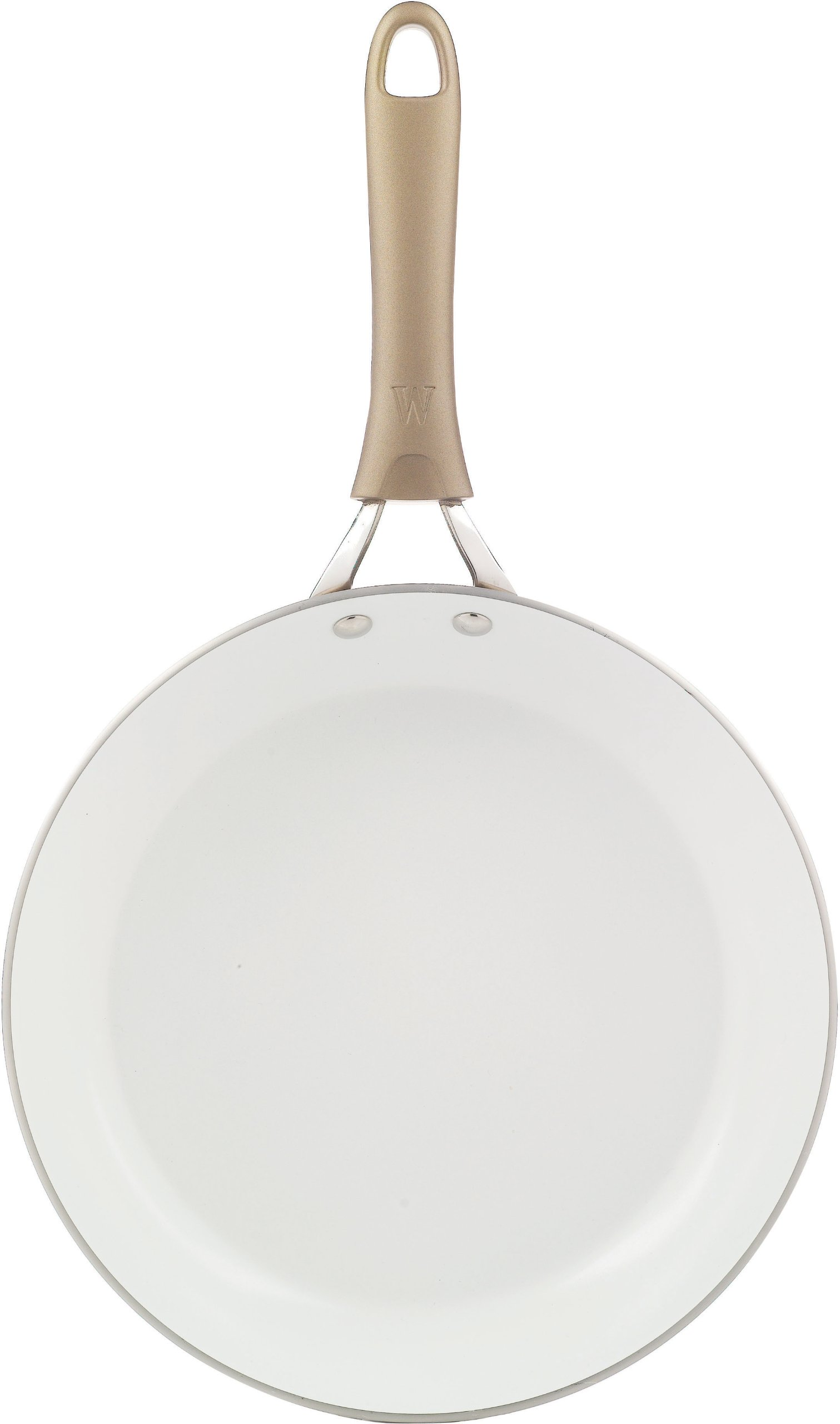 WearEver C944S2 Pure Living Nonstick Ceramic Coating Scratch Resistant PTFE PFOA and Cadmium Free Dishwasher Safe Oven Safe 10-Inch and 8-Inch Fry Pan Cookware Set, 2-Piece, Gold by WearEver (Image #5)