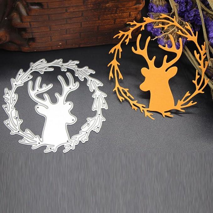 Plantilla de Dibujos para Imprimir con Aerógrafo,para Bricolaje,Álbum de Recortes,DIPOLA Decoración para Hogar y Celebración de Navidad &010: Amazon.es: ...