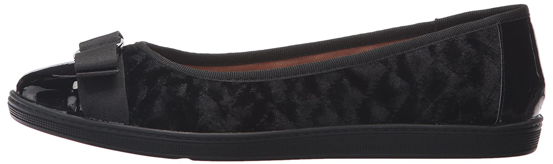 Soft Style Women's Faeth Flat B01N371GF0 9 W US|Black Velvet