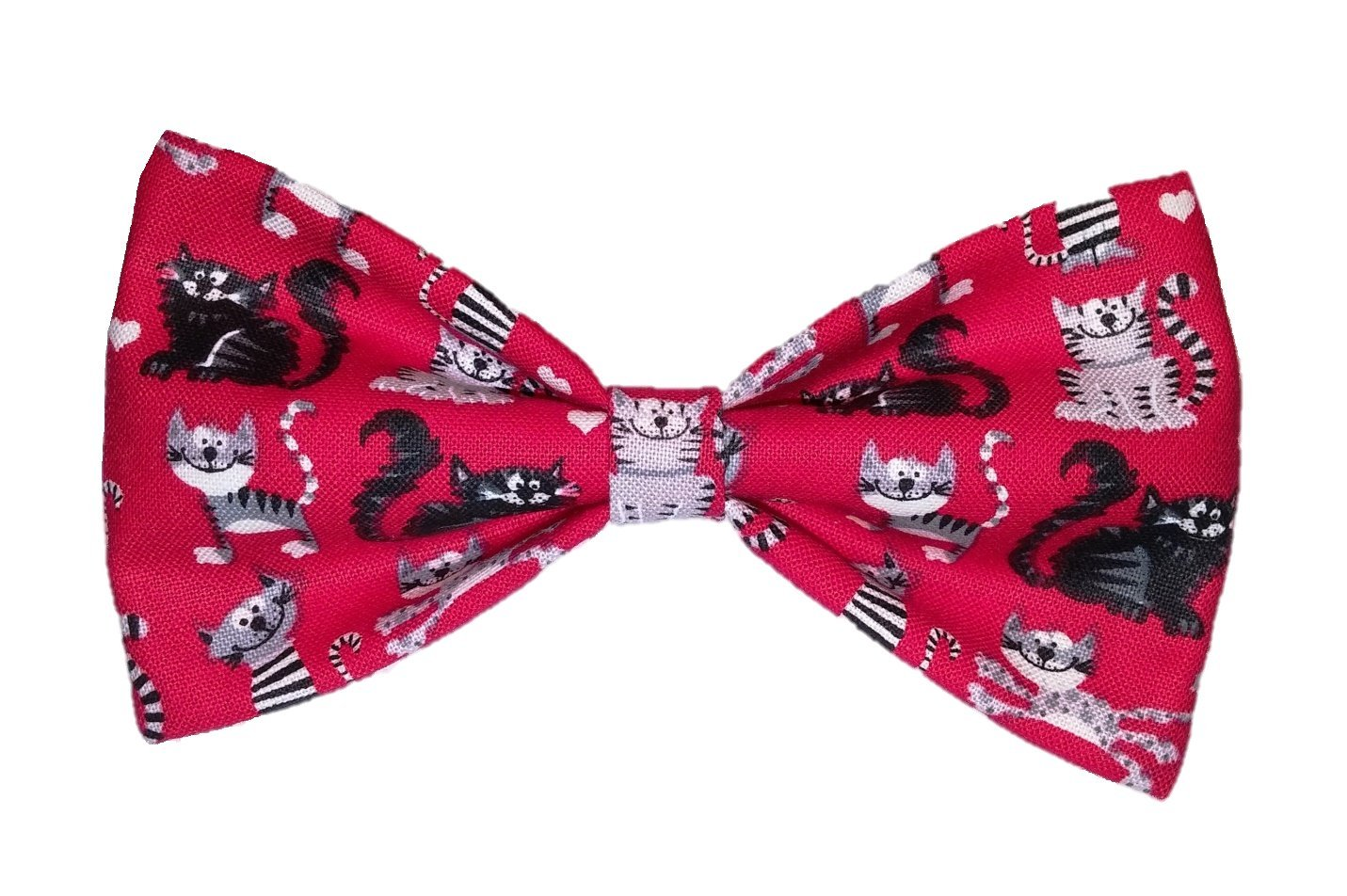 Red Cats - Dog Bow Tie - Cat Bowtie