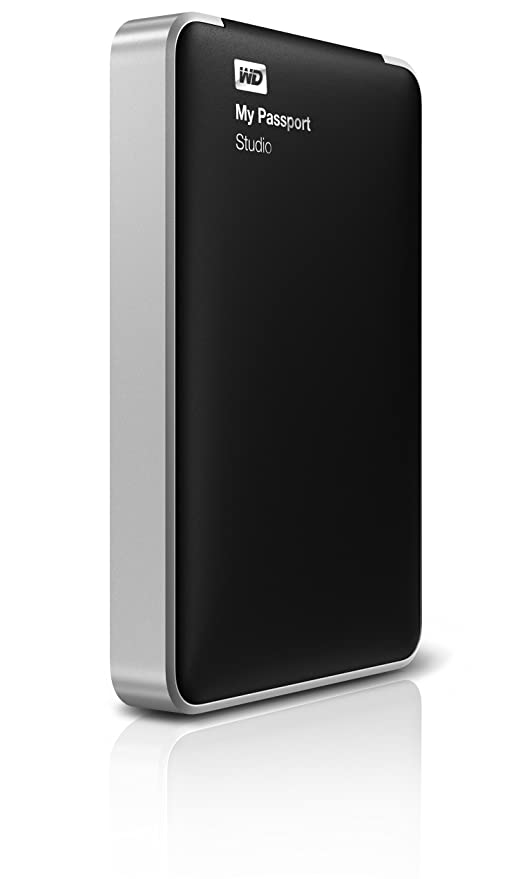 WD My Passport Studio 1TB Mac Portable External Hard Drive Storage FireWire