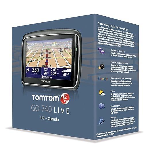 amazon com tomtom go 740 live 4 3 inch widescreen portable live rh amazon com TomTom Go 720 GPS TomTom Update