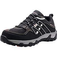 LARNMERN Zapatos de Seguridad para Hombre, Puntas