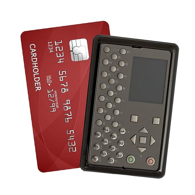 1 opinioni per Neoi 906 NERO Mini Telefono Cellulare Custodia in alluminio spazzolato Video- e