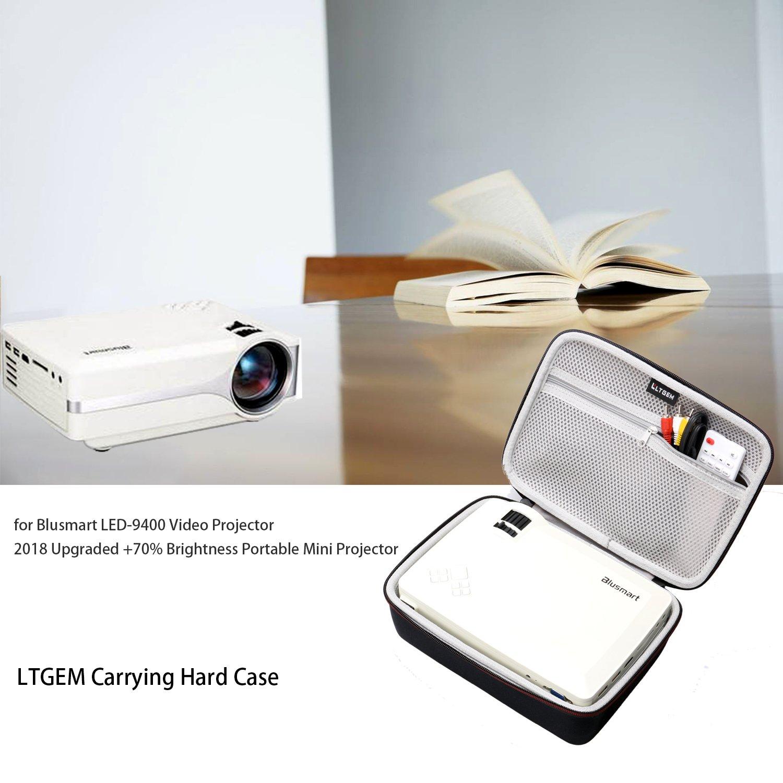 LTGEM EVA Hard Case for Blusmart LED-9400 Video Projector 2018 Upgraded +70% Brightness Portable Mini Projector - Travel Protective Carrying Storage Bag by LTGEM (Image #7)
