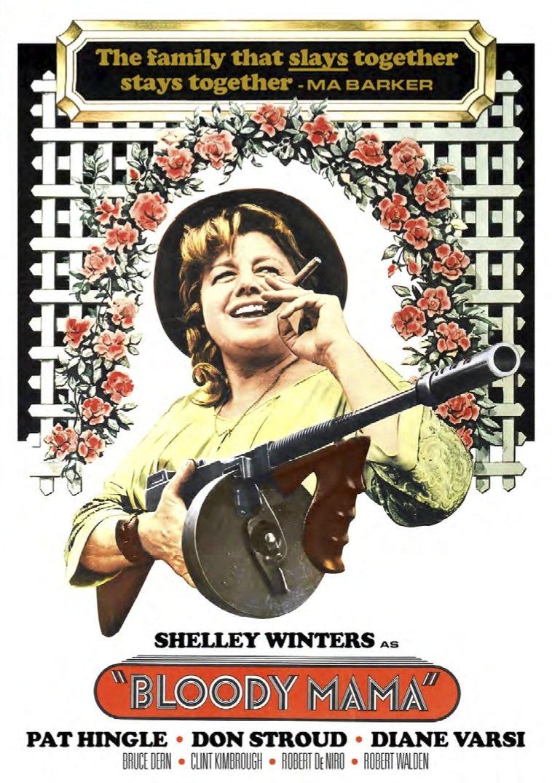 DVD : Shelley Winters - Bloody Mama (DVD)