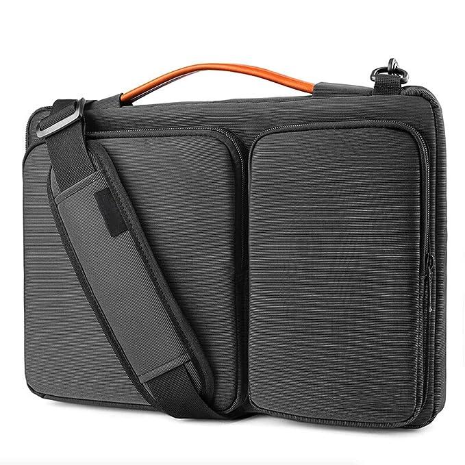 ZHEPENG Bolsa de Ordenador portátil Apple MacBookPro de 13 Pulgadas, Bandolera, Bolsa de Mensajero Lenovo ASUS, DELL, Negro, Regalos navideños: Amazon.es: ...