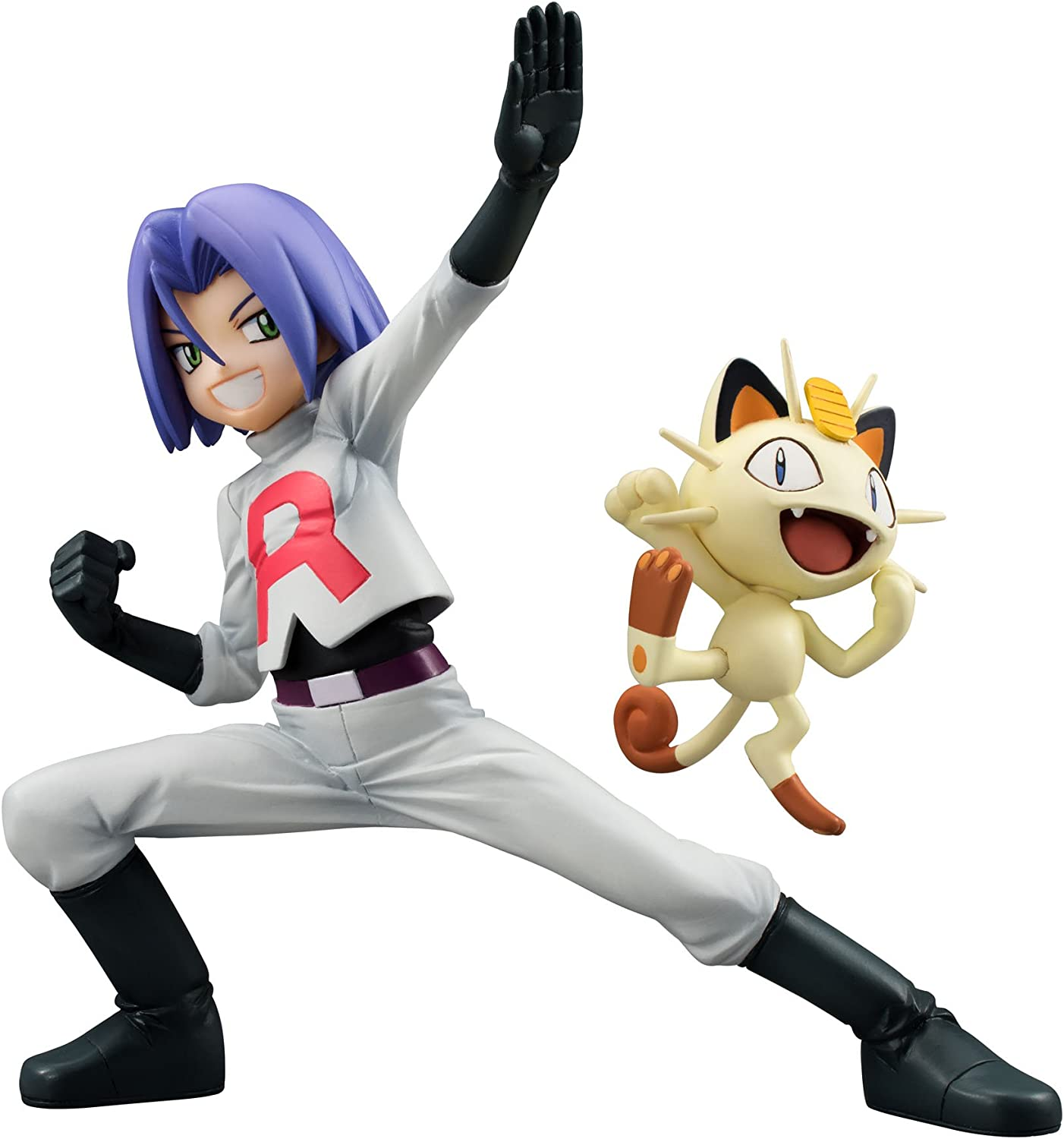Pokemon G.E.M. Series Team Rocket James and Meowth Figura Set ...